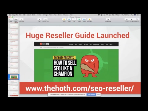 SEO Reseller AMA LIVE