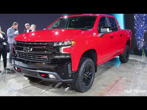 2019 Chevrolet Silverado LT, Trail Boss and High Country Close Up Look! 2018 NAIAS