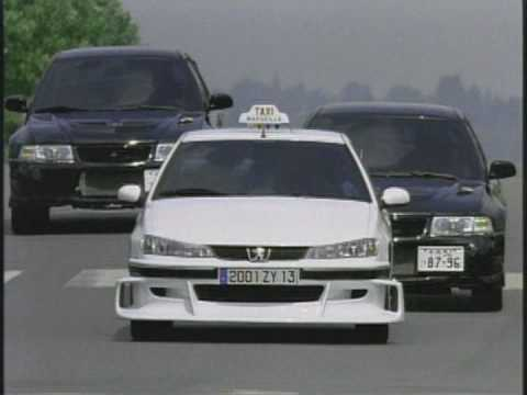MITSUBISHI LANCER EVO7 vs PEUGEOT - YouTube
