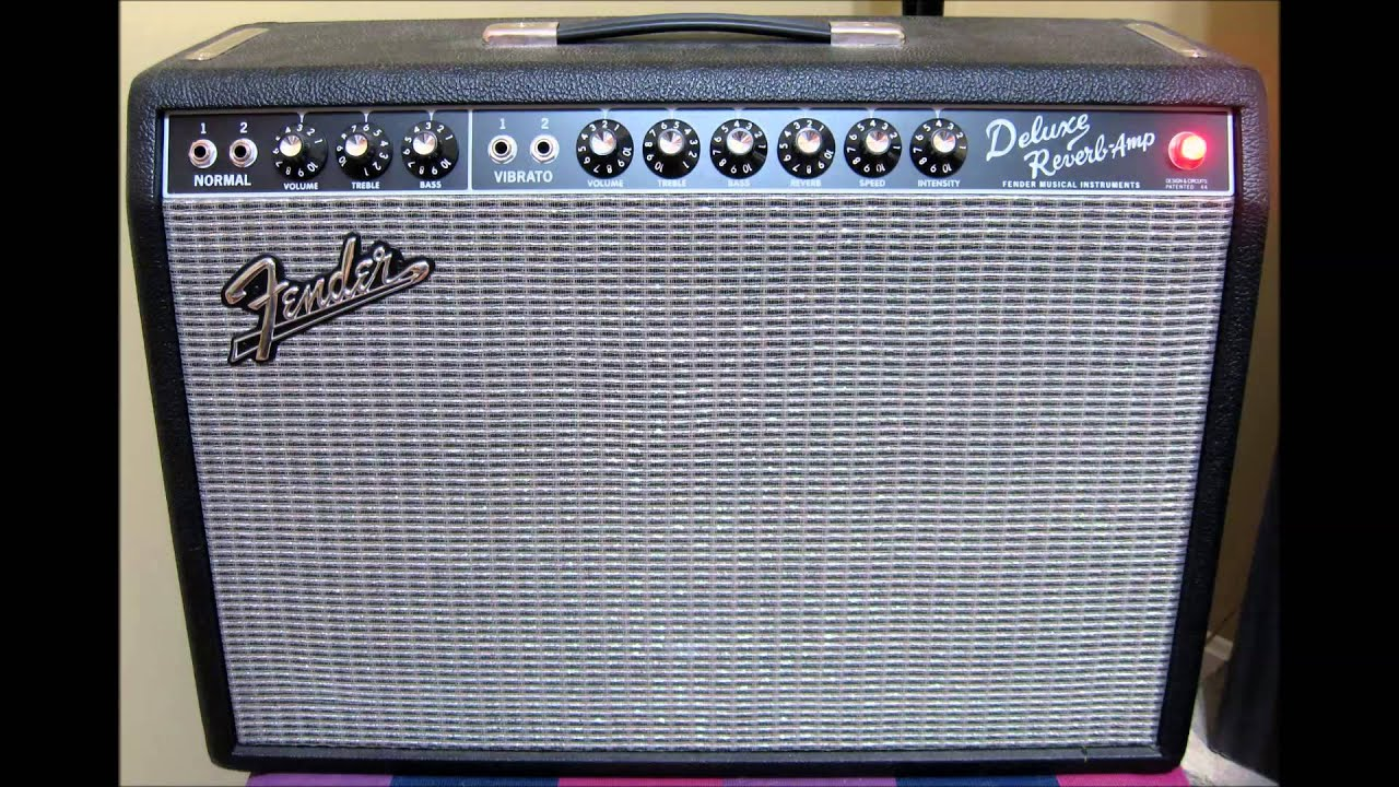 Fender '65 Deluxe Reverb Reissue with Telecaster Clean ...