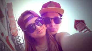 Becky G & Austin Mahone FLIRTY  'Loving So Hard' Music Video Highlights
