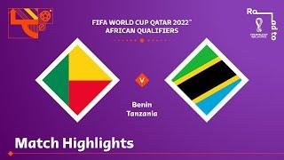 Бенин  0-1  Танзания видео