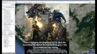 Transformers Age of Extinction. Poster. Illuminati Freemason Symbolism.