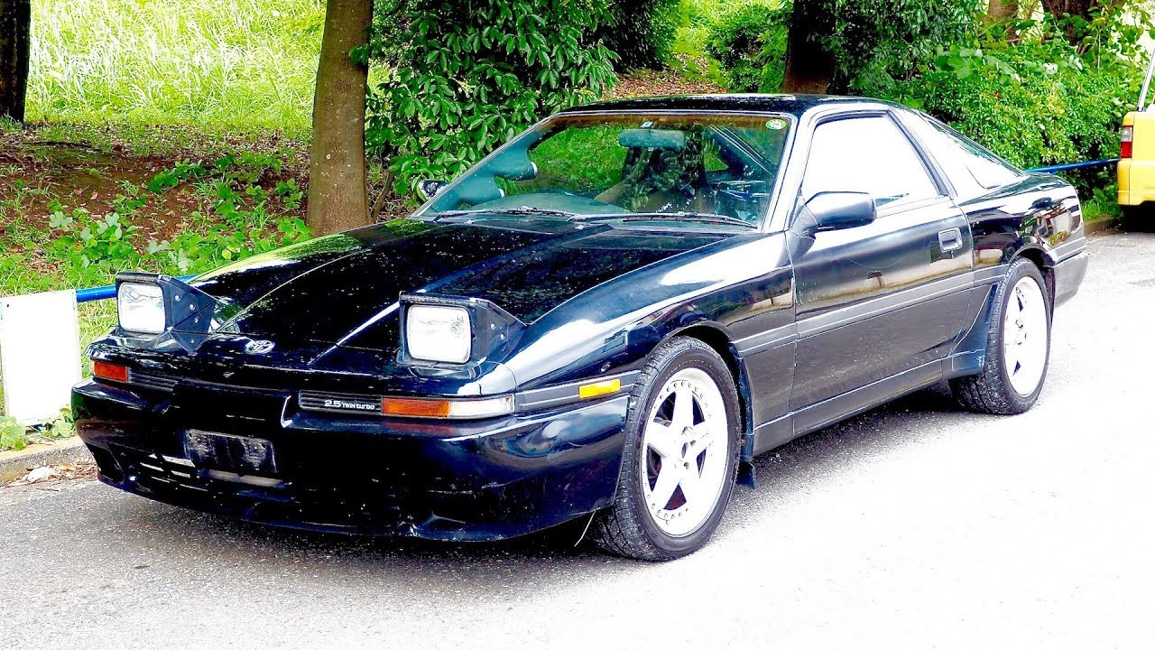 1992 Toyota Supra Twin Turbo R JZA70 (USA Import) Japan Auction ...