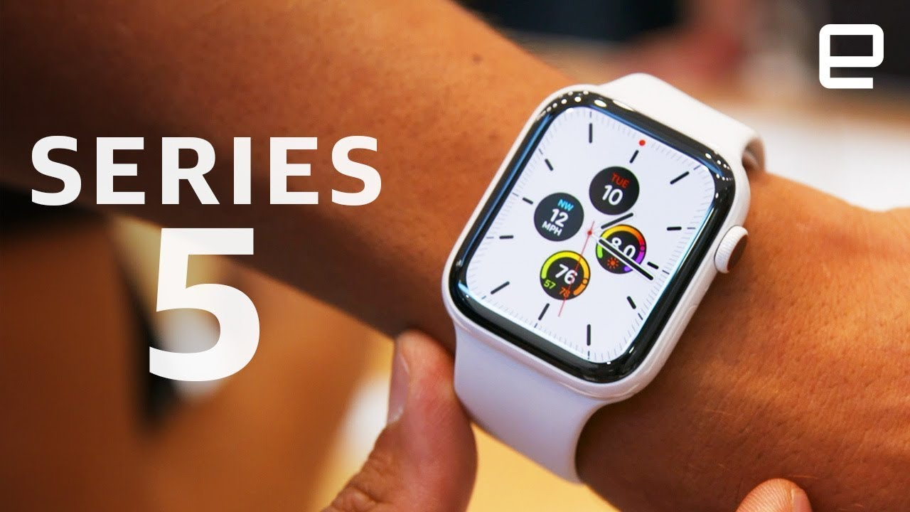 Apple Watch Series 5 First Look - Engadget thumbnail