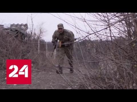 ВСУ обстреливают Донбасс. Репортаж Александра Сладкова