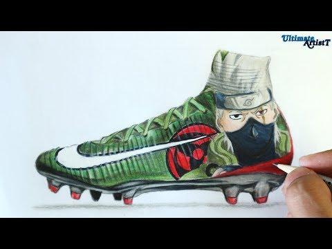 8618bfe2428 Nike Mercurial Manga Pack - Naruto Cleats