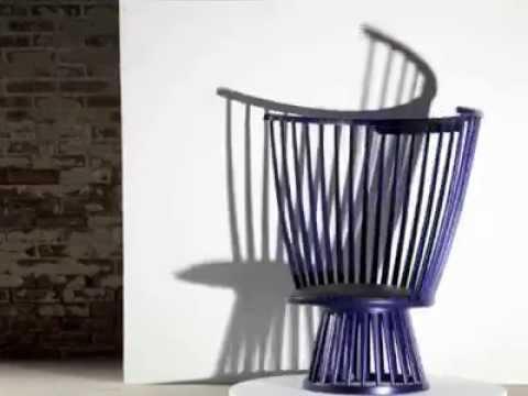 Opad Tom Dixon Fan Chair Youtube