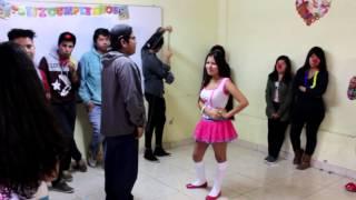 """Kirito Bailando """"SALSA"""" - Mr.Choco"""