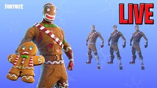 Fortnite GINGERBREAD SKINS RETURN! Magasin d'objets quotidiens (en anglais seulement) Fortnite Bataille Royale