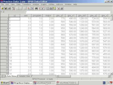 Lesson 7.2: Saving SPSS Files