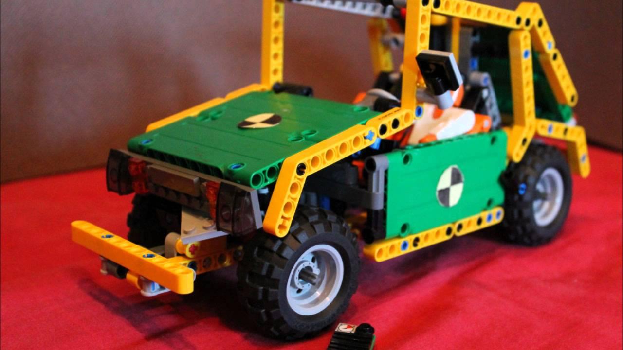 crash test lego technic youtube