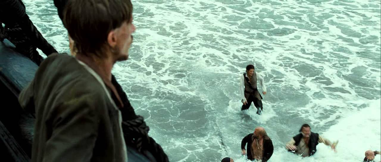 Jack Sparrow running from cannibals POTC Dead Mans Chest  YouTube
