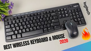 Best Wireless Keyboard & Mouse 2020 | Logitech Wireless Keyboard and Mouse Combo Review in Hindi