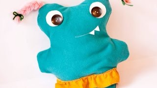 Make An Adorable Monster Plush - Diy Crafts - Guidecentral