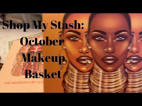 Shop My Stash: October Makeup Basket | Money Saving Tips | HelenasQueendom