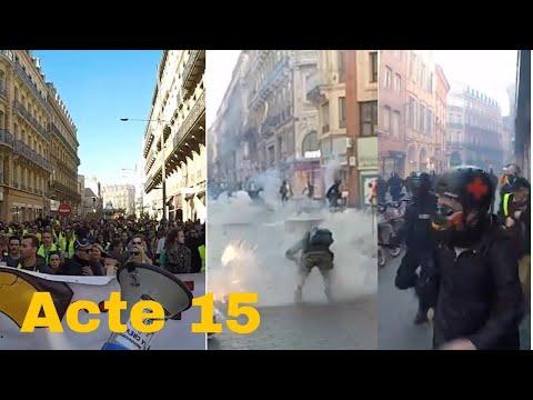 gilet jaune Toulouse acte 15 Le 23/02/2019