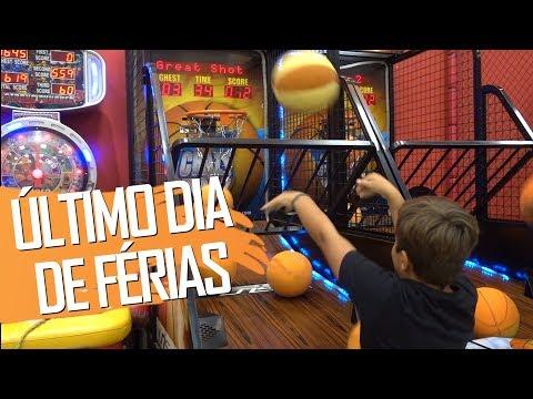 ÚLTIMO DIA DE FÉRIAS - COMEÇANDO NO SKATE #10