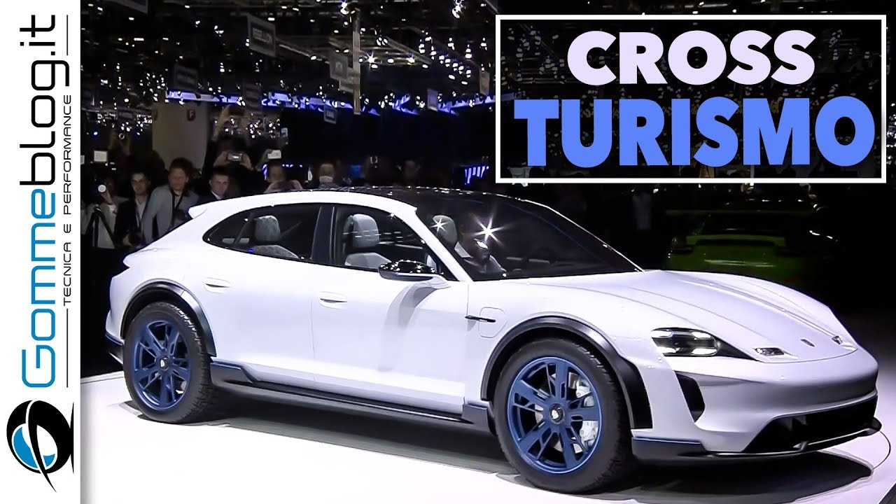 Porsche Concept Study Mission E Cross Turismo 600 Hp Full Electric Car