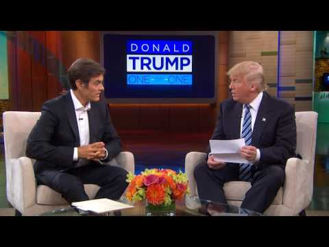 Exclusive: Donald Trump Talks to Dr. Oz