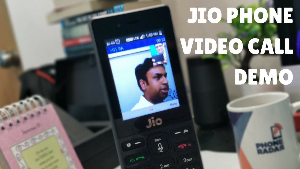 Jio Phone Video Calling Demo over Jio 4G Connection - PhoneRadar (Ft  GeekyRanjit)