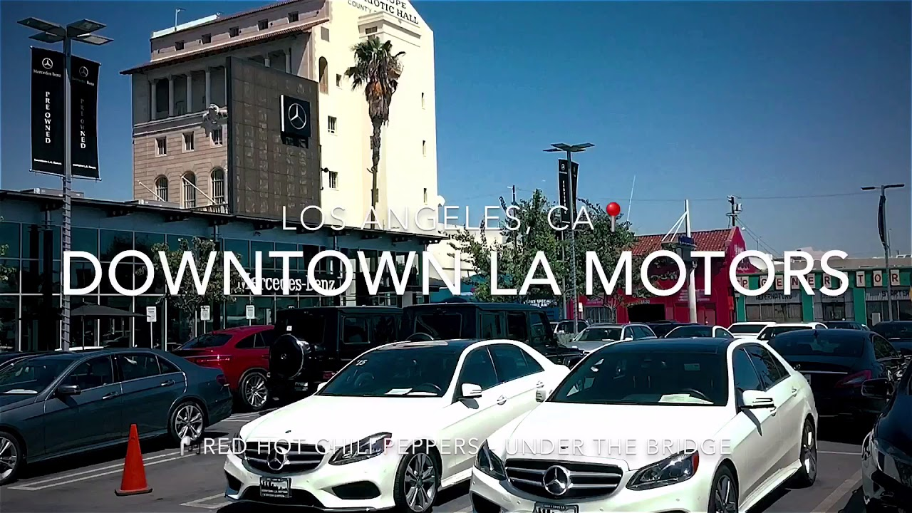 Downtown La Motors >> Downtown La Motors Ft Red Hot Chili Peppers Under The Bridge