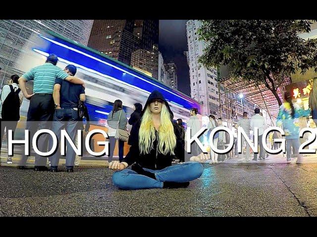 HONG KONG EPIC TRAM RIDE TO VICTORIA PEAK VLOG_0005