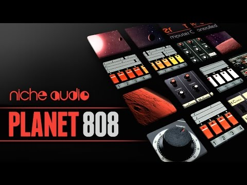 Planet 808 Maschine Expansion & Ableton Live Pack - From Niche Audio