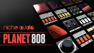 Planet 808 Maschine Expansion Ableton Live Pack - From Niche Audio