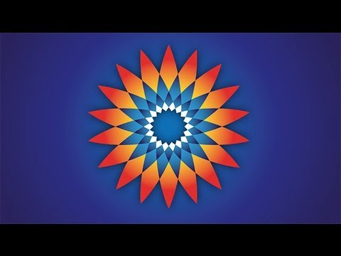 Adobe Illustrator CS3 Lub Wyższe - Tutorial Nr 1 - Kwiat - Flower
