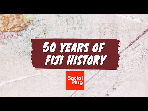 50 Years of Fiji - A Timeline