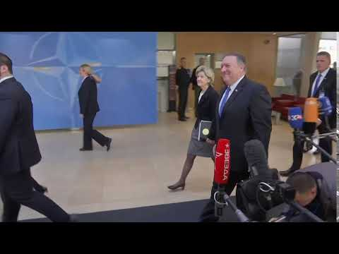 Secretary Pompeo Attends NATO Foreign Ministerial in Belgium.