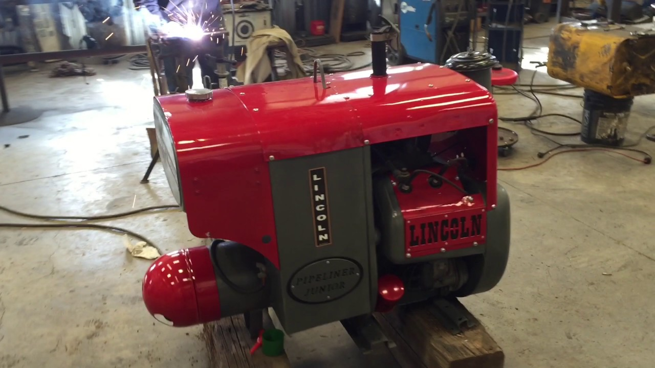 Lincoln Sa 200 Pipeliner Jr 1951 Pipe Liner In Operation Running Welders For Sale