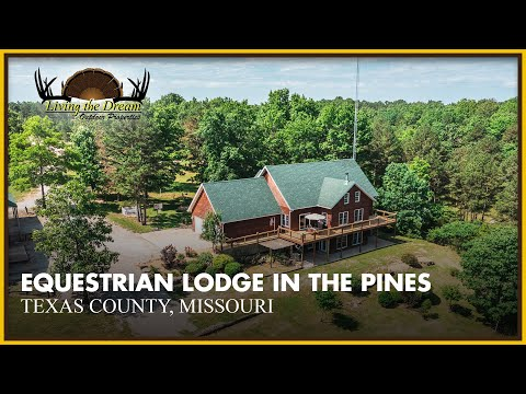 Equestrian Lodge in the Pines