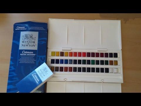 Unboxing - W&N Watercolours