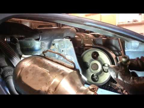 How to Change Replace Power Steering Pump Peugeot 206 – Amateur Repairs