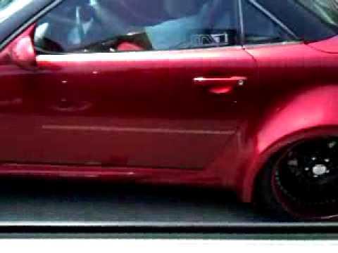 Wide Bodied Mercedes SLK 500