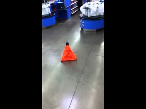 Someone Pooped on the Floor at Wal-Mart - YouTube