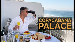 COPACABANA PALACE - Staying at the PRESIDENTIAL SUITE of the most famous hotel in Brazil!