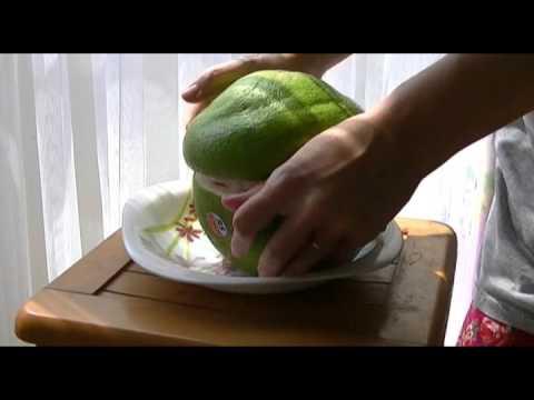 Тропические фрукты Индонезии - Помело (jeruk bali)