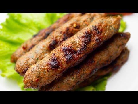 Seekh Kebab In A Pan