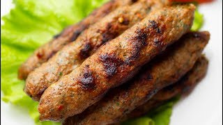Seekh Kebab In a Pan