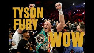 UNBELIEVABLE | TYSON FURY DESTROYS DEONTAY WILDER | THE NEW WBC HEAVYWEIGHT CHAMPION