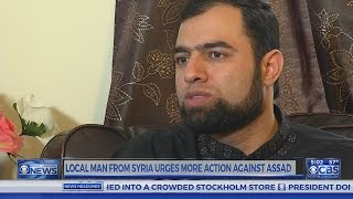 Syrian living in Raleigh pleased with US's striking at Assad regime
