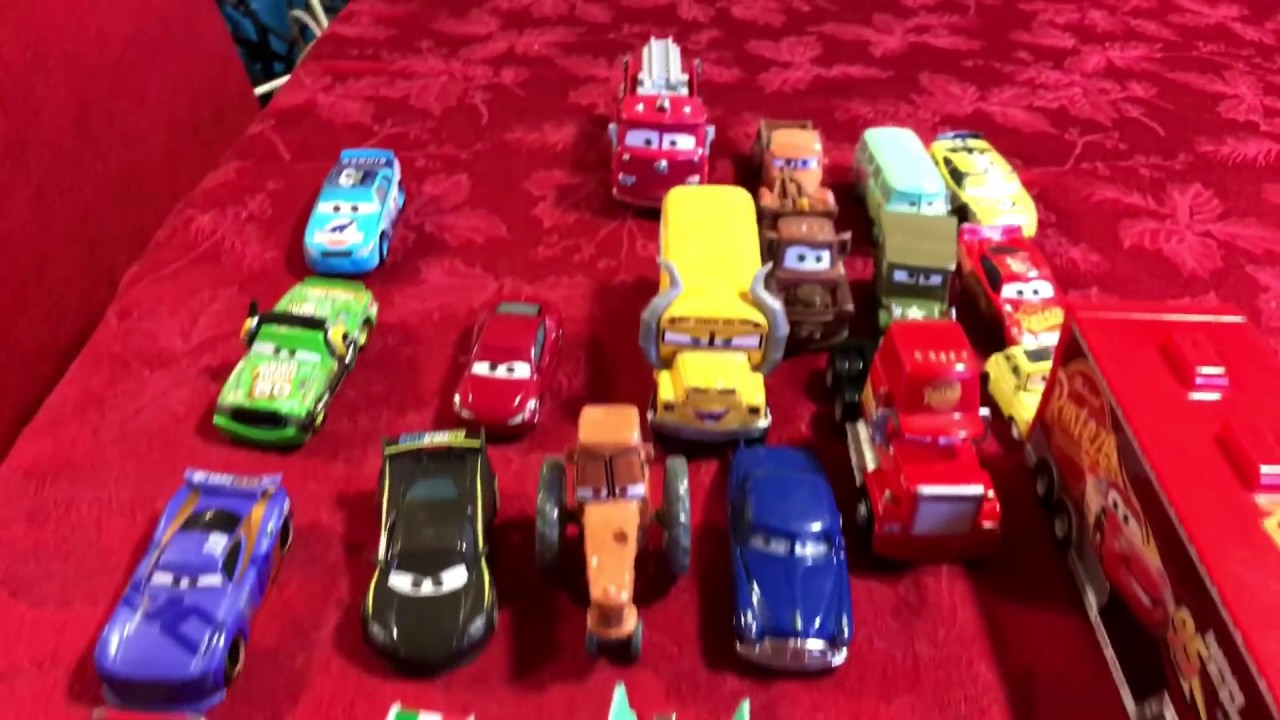 cars 3  lightning mcqueen and friends disney pixar haulers