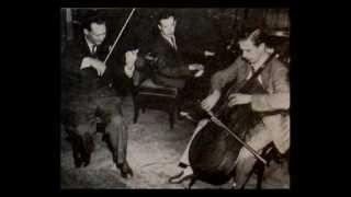 Schubert / Janigro / Badura-Skoda / Fournier, 1951:  Trio in B flat major, Op. 99 - Westminster LP