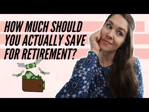 How To Save For Retirement + How Much You Actually Need [Canada]