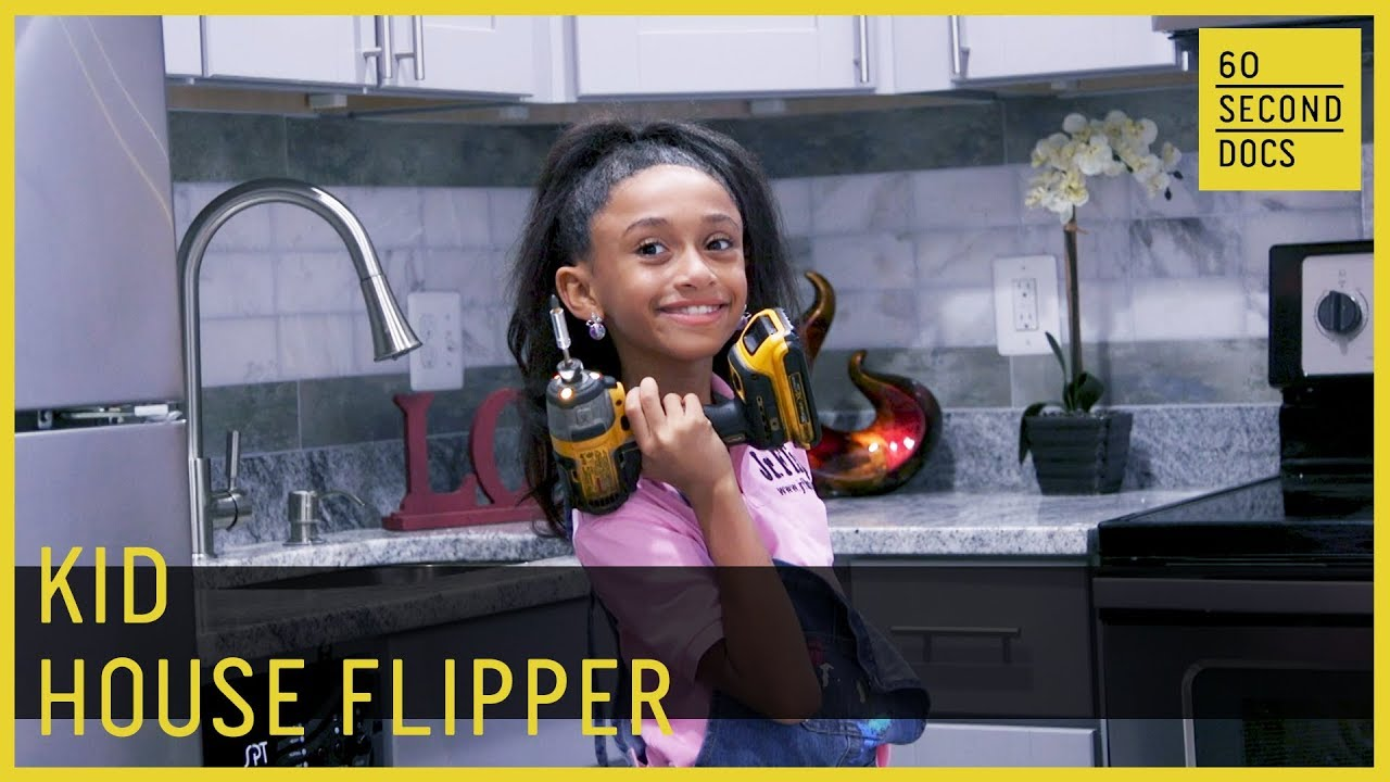 The 9-Year-Old House Flipper Minding Her Own Business