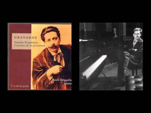 """ENRIC GRANADOS - """"Cuentos de la juventud"""", Emili Brugalla - piano"""