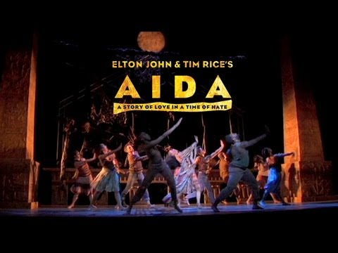 Elton John and Tim Rice's Aida: Live Footage